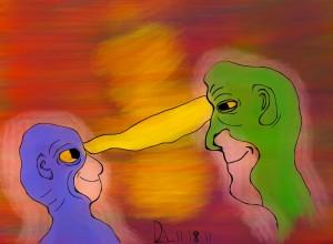 """""""Dan and John"""" by Daniel Leighton"""