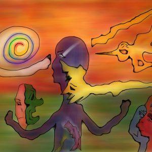 """""""Permission To Enter"""" by artist Daniel Leighton"""