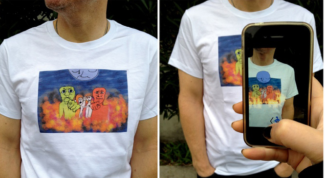 On Trial - Augmented Reality Tee Shirt