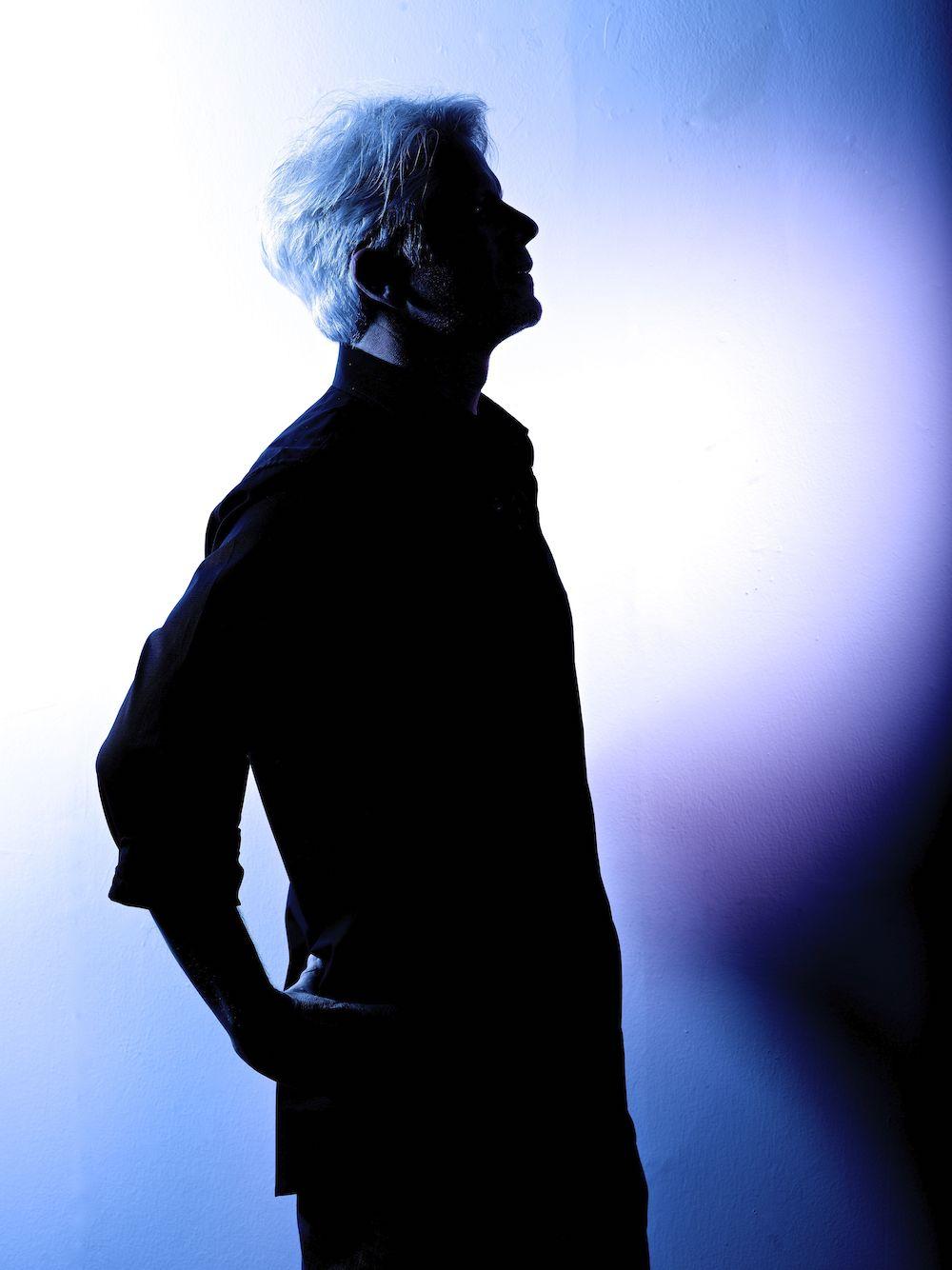 Daniel Leighton Silhouette Portrait by Jeffrey Sklan